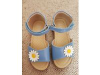 Marks and Spencers blue sandals