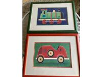 Two children's pictures