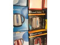 Range of kettles