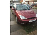 Ford Focus ghia estate 1.8 d. One previous one