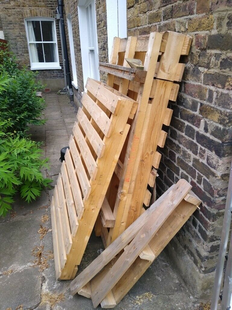 Free wooden pallets   in Tooting, London   Gumtree