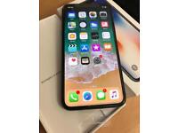 Brand new boxed Apple iPhone X 64gb space grey factory unlocked