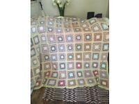 Bedspread kingsize. Crochet. Vintage