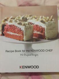 Brand New Kenwood Recipe Book (70 Recipes)