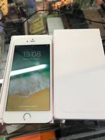 Apples IPhone 6 Plus 128gb Unlocked white and silver very good condition