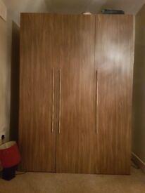 3 door tall wardrobe