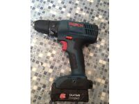 Bosch 14.4v drill all working battery fully charged but lost the charger