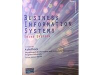 Business Information System 3rd edition (Kingston university) course number: BB1754