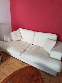 Two comfy sofas