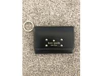 KATE SPADE genuine leather coin and card purse