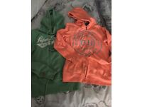 2 x hoodies size small
