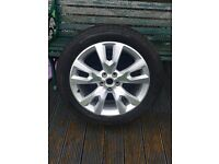 SOLD SOLD SOLD BARGAIN VAUXHALL Antara Alloy Wheel Rim and Tyre price drop £150 to £100 to £70