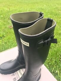 Black Hunter Wellies (Men's) UK10 (In retail: £130) - Boots, Shoes, Festival