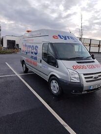 Mobile tyre fitting van for sale, ready for work immediately