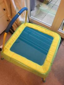 Toddler trampoline - as new