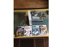 Wii with some games