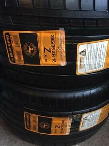 285/35r18 Continental Sport Contact 3 ( Two Tires )