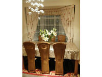 EXCELLENT CONDITION FABRIC CURTAIN