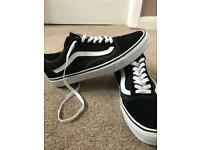 Men's trainers vans and converse all brand new uk size 10