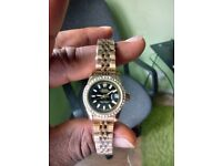 Rolex watch diamond bezel 26mm (female)