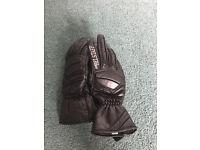 Belstaff ladies gloves - ladies medium - size 27 - kevlar protection worn twice