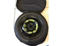 BRAND NEW SPACE SAVER WHEEL (4 STUD), FITTED PIRELLI TYRE AND CARRY BAG