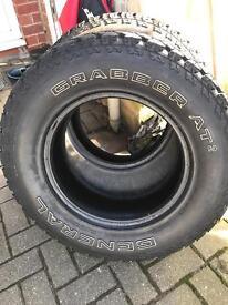 Grabber AT 2 tyres