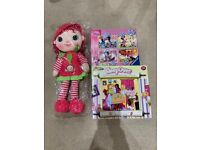 New Puzzles & doll