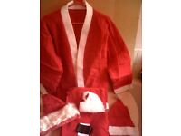 4SALE,1 NEW LARGE FATHER CHRISTMAS OUTFIT. ONLY £5
