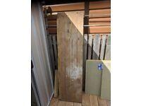 Plywood board, 152cm x 40cm x 18mm