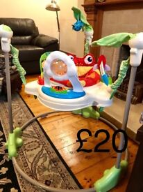 Selection of brand new/hardly used baby toys
