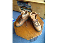 Leather walking boots from Blacks. Size 9 (43). Or size 8 with walking socks.