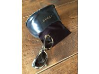 Gucci Sunglasses (Light Tortoiseshell)