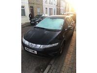 Black Honda Civic