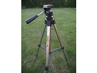 2 x camera tripods