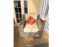 Rattan indoor/outdoor furniture