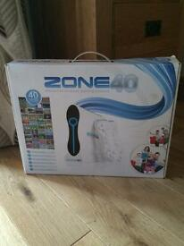 Zone 40 Interactive Wireless Gaming Console