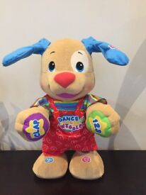 Fisher price dance n wiggle dog