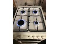 Zanussi gas cooker 50cm white