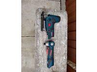Bosch professional 10.8 angle and jigsaw