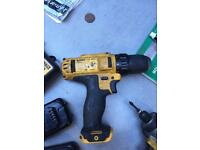 Dewalt 10.8 impact and drill set