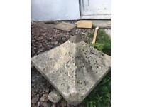 Natural Stone Pier Cap