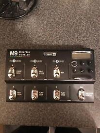 Line 6 M9 Stompbox Modeler for Sale