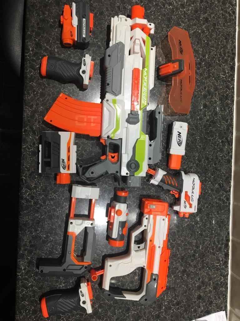 Nerf Modulus And Attachments In Morriston Swansea Gumtree