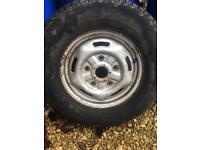 """Transit 16"""" wheels and Michelin tyres"""