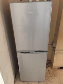 Prestige fridge freezer silver