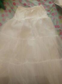 Bridal petticoat/underskirt