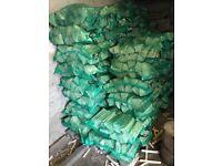 Nets of premium hardwood logs (ash&beech)