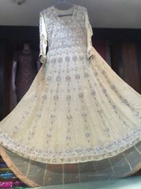 Never Worn Bridal Wedding Dress Pakistani/Indian/Asian