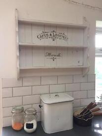 French rustic shelf